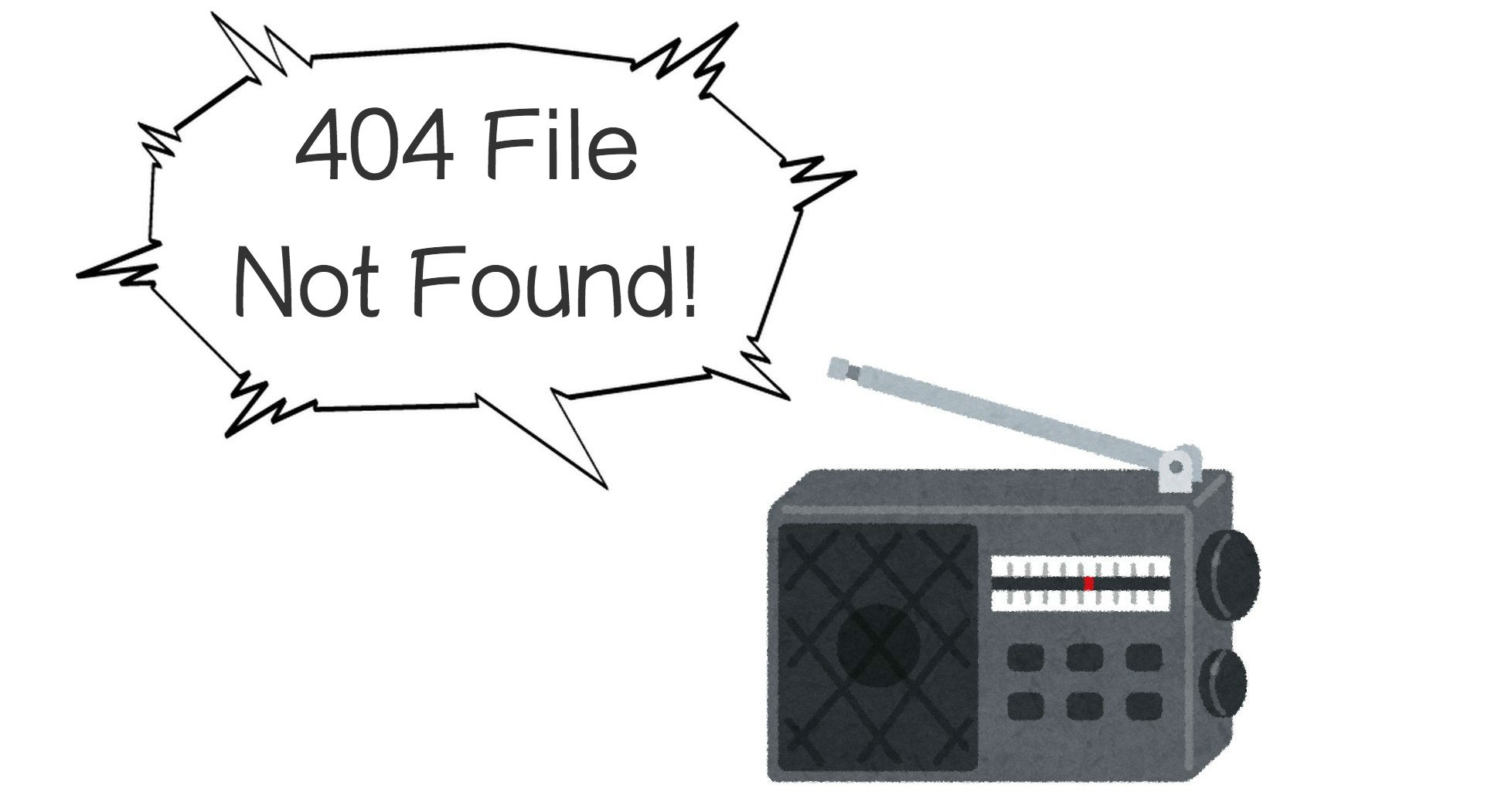 404 Not File Found.
